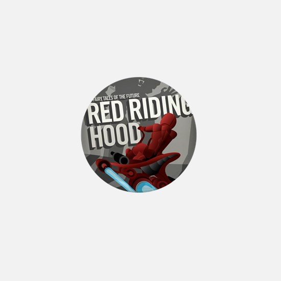 Little Red Riding Hood Sci Fi Mini Button