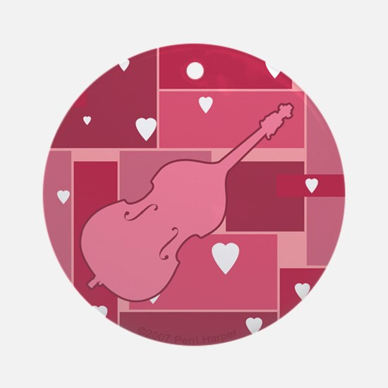 Bass Hearts - Ornament (Round)