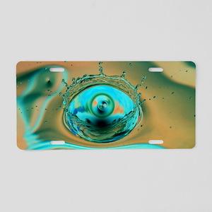 Watery Dream Cat Forsley De Aluminum License Plate