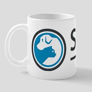 SPCA of Tennessee Logo Mug