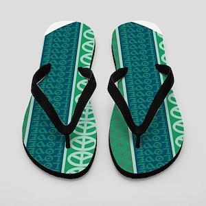 Peace Love Recycle Flip Flops