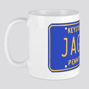 Jagoff License Plate Mug