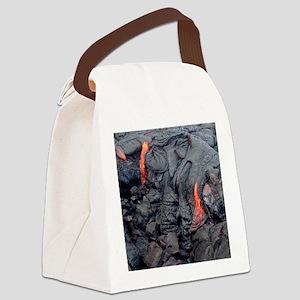 Hot Feet Canvas Lunch Bag