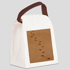 Sndy Feet Canvas Lunch Bag