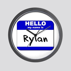 hello my name is rylan  Wall Clock