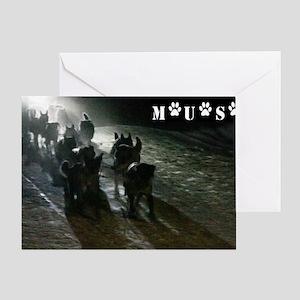 MUSH Photo 2 with Logo Greeting Card
