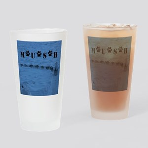 MUSH logo Drinking Glass