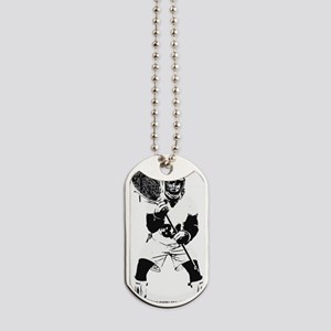 Lacrosse Goalie Behind Every Great Team Dog Tags