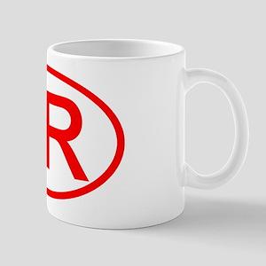 SR Oval (Red) Mug