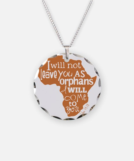 Jn. 14:18 Graphic Necklace