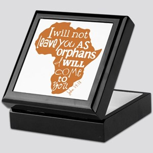 Jn. 14:18 Graphic Keepsake Box
