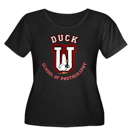What the Duck University Women's Plus Size Scoop N