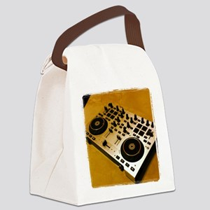 Midi Dj Canvas Lunch Bag