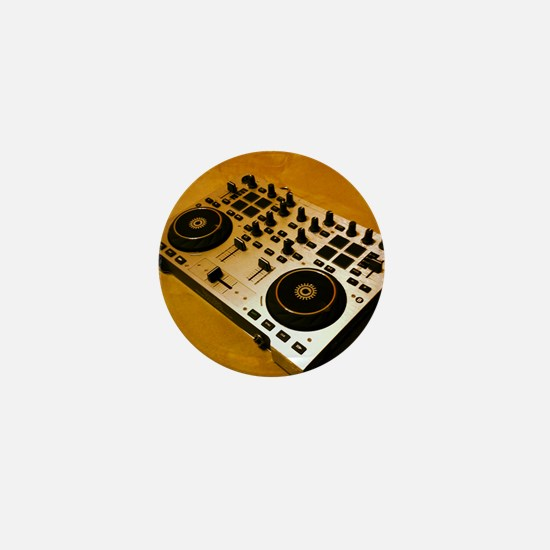 Midi Dj Mini Button