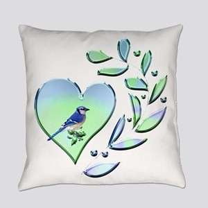 Blue Jay Lover Everyday Pillow