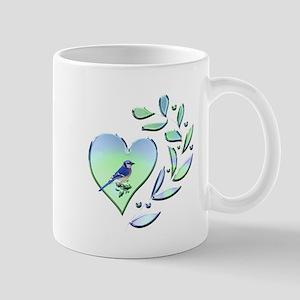Blue Jay Lover 11 oz Ceramic Mug