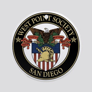 West Point Society of San Diego Round Ornament