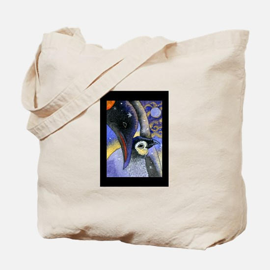 PENGUINS & STARRY NIGHT Tote Bag