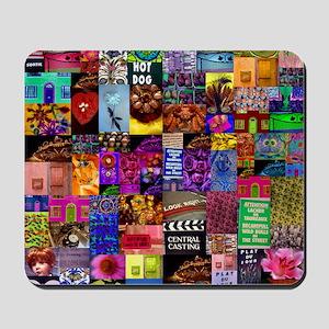 Photo Collage Mousepad