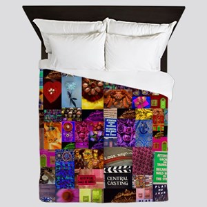 Photo Collage Queen Duvet