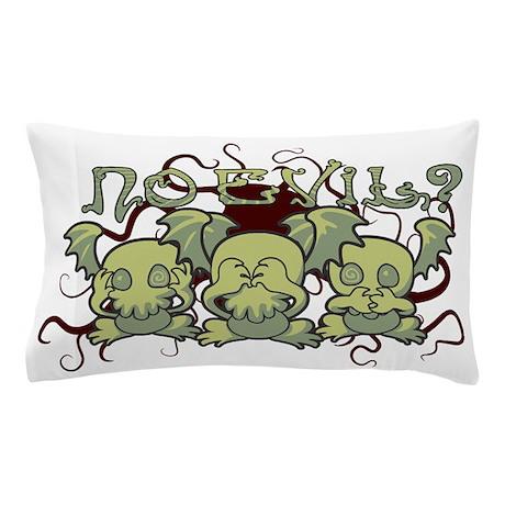 No Evil Cthulhu Pillow Case