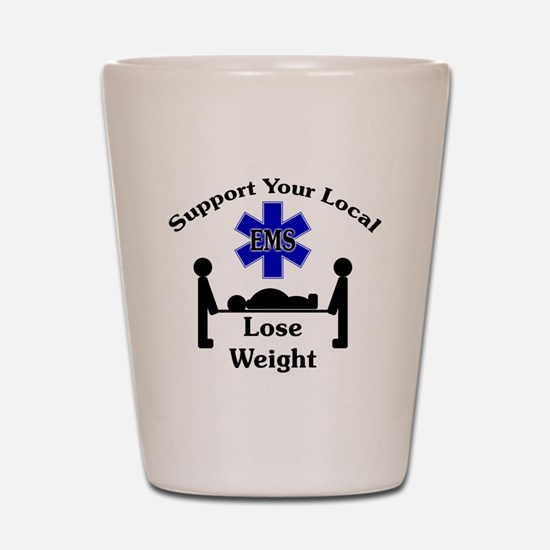 SupportEMS Shot Glass