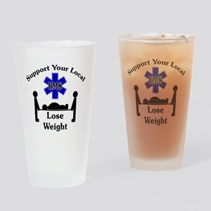 SupportEMS Drinking Glass