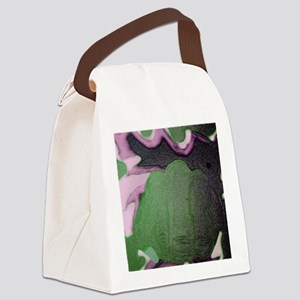 punched  Canvas Lunch Bag