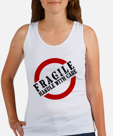 FRAGILE HANDLE WITH CARE Women's Tank Top