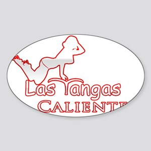 Logo Tangas Calientes Sticker (Oval)