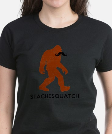 Stachesquatch Women's Dark T-Shirt