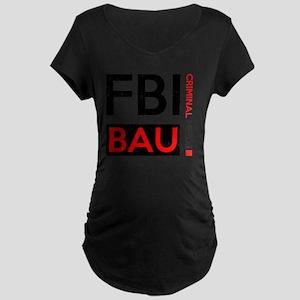 FBI BAU Maternity Dark T-Shirt