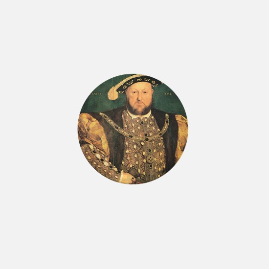 Hans Holbein the Younger Henry VIII Mini Button