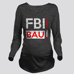 FBI BAU Long Sleeve Maternity T-Shirt
