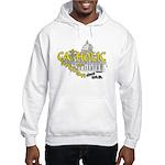 Catholic and Christian (Gold) Hooded Sweatshirt