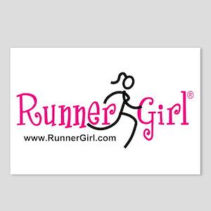 RunnerGirl Postcards (Pk of 8)