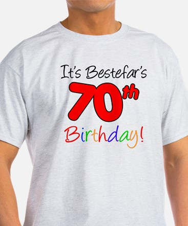 Bestefars 70th Birthday T-Shirt