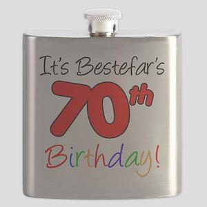 Bestefars 70th Birthday Flask
