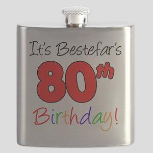 Bestefars 80th Birthday Flask