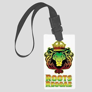 Roots Reggae Lion Large Luggage Tag