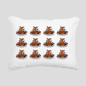 AttitudeArcade Rectangular Canvas Pillow