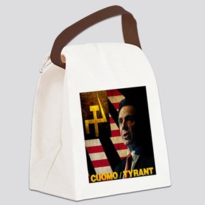 Cuomo the Tyrant Canvas Lunch Bag