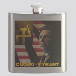 Cuomo the Tyrant Flask