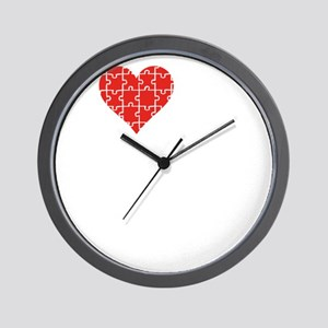 loveAutisticSon1C Wall Clock