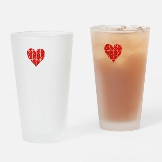 loveAutisticSon1C Drinking Glass