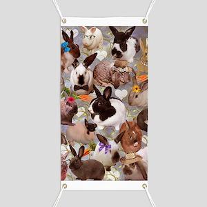Happy Bunnies Banner