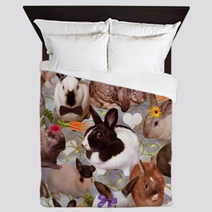 Happy Bunnies Queen Duvet