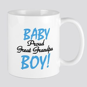 Baby Boy Great Grandpa Mug