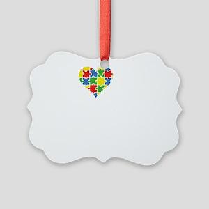 loveAutisticSis1B Picture Ornament