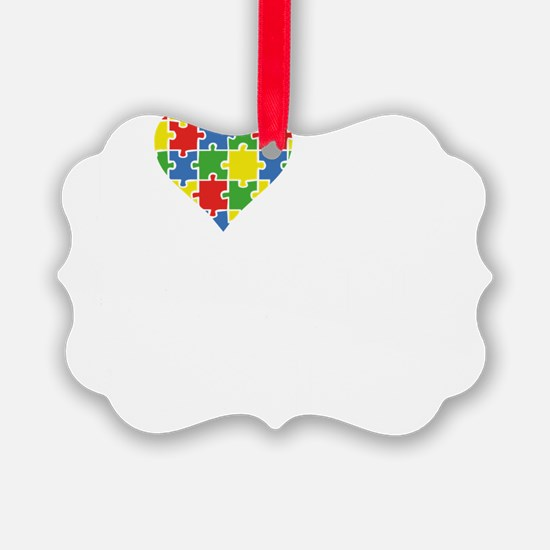 loveAutisticSis1B Ornament